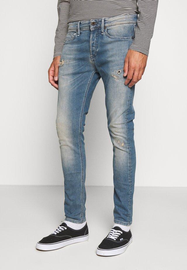 BOLT - Slim fit jeans - bue denim