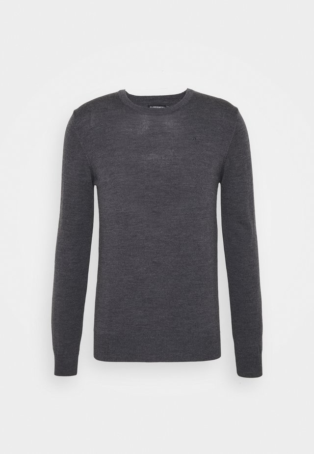LYLE CREW NECK - Pullover - dark grey melange