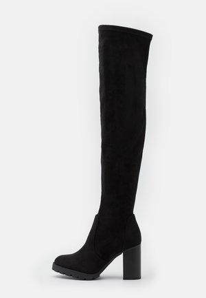 MADYSON - High heeled boots - black