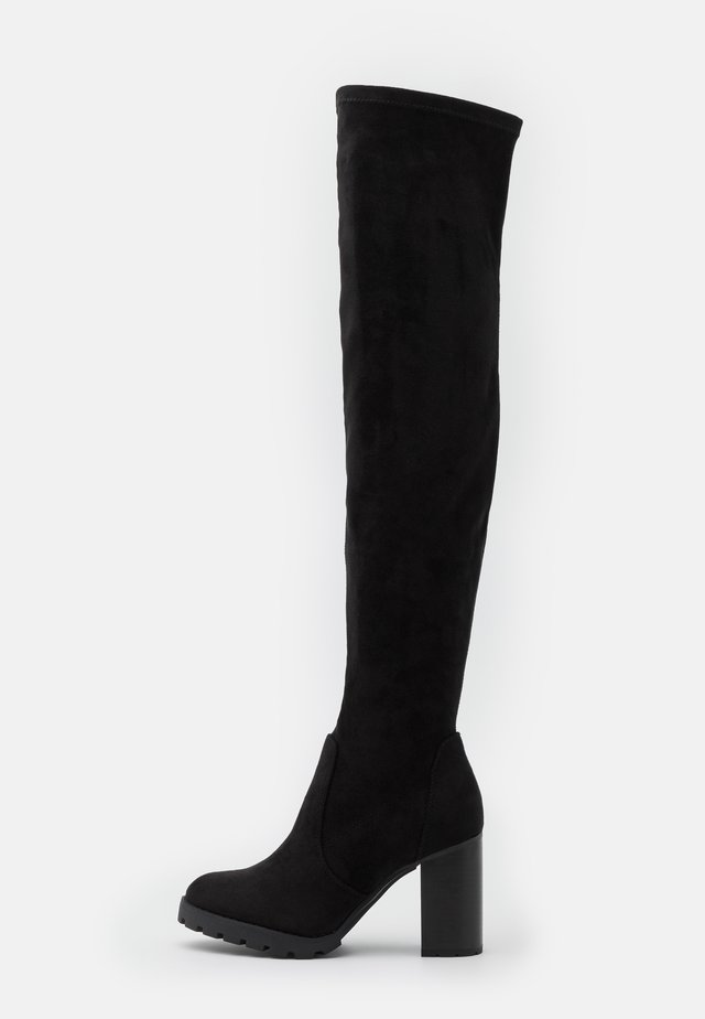 MADYSON - High heeled boots - black