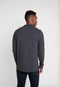 Pier One - 2 PACK - Polo shirt - mottled grey/black - 3