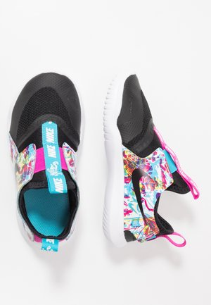 FLEX RUNNER FABLE - Obuwie do biegania treningowe - black/white/fire pink/blue fury