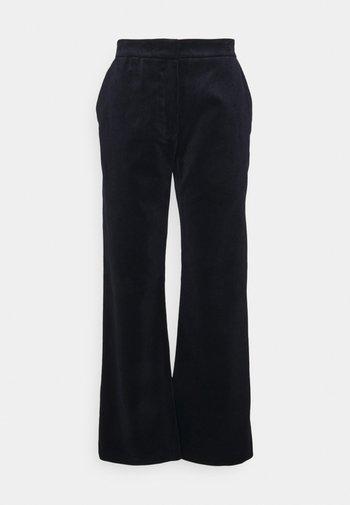 LEA PANTS - Kalhoty - navy