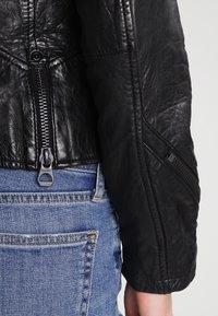 Gipsy - Veste en cuir - black - 5