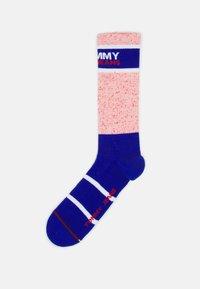 Tommy Jeans - NEPPY SOCKS UNISEX - Socks - dark blue - 0