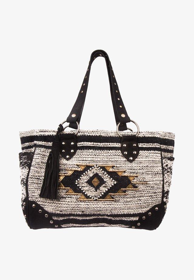 SUMATI - Handbag - schwarz/weiß