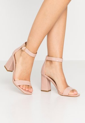 ONLALYX - High heeled sandals - nude