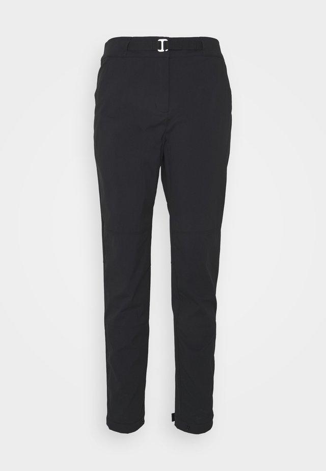OUTRACK PANTS  - Broek - black