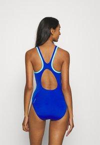 Speedo - BOOM LOGO - Swimsuit - blue flame/light adriatic - 2