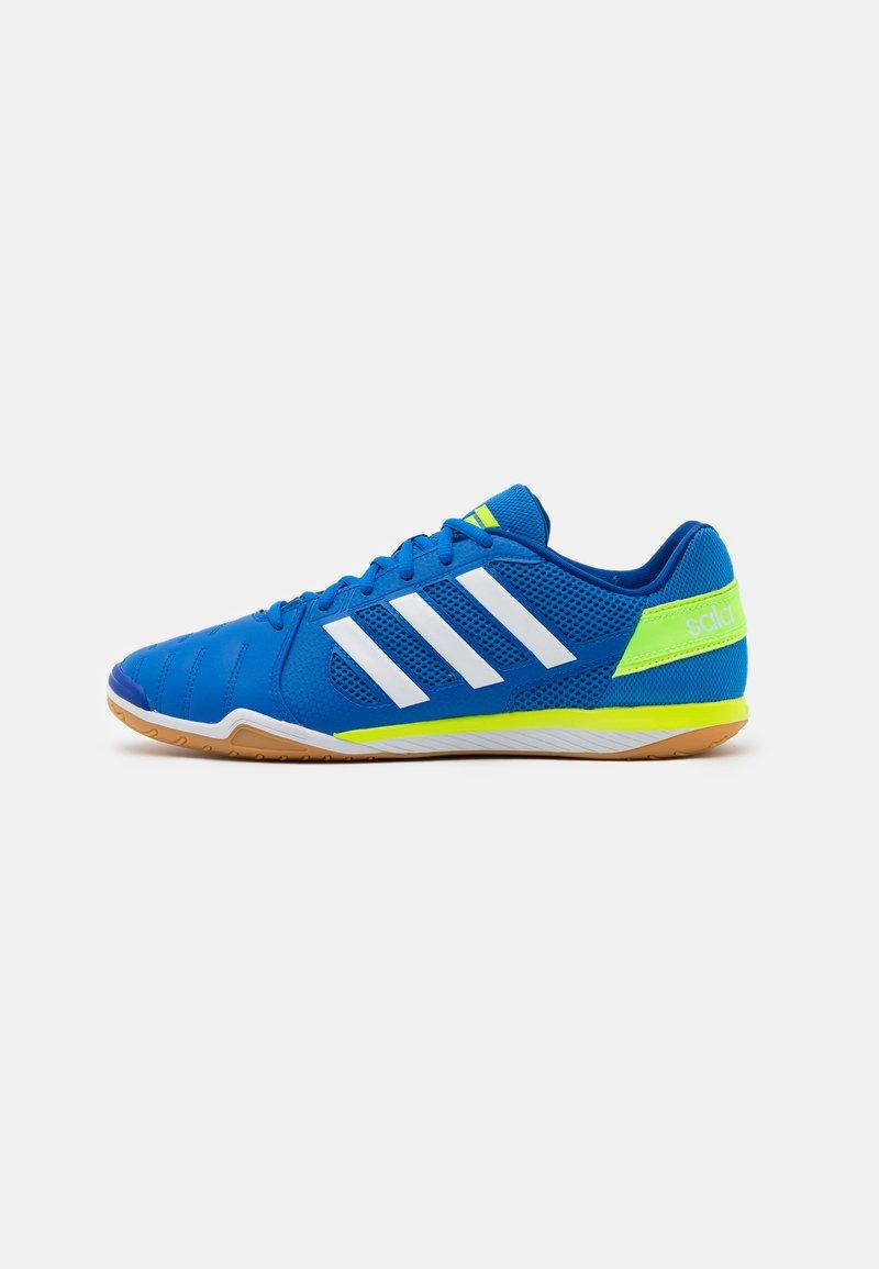 adidas Performance - TOP SALA - Indoor football boots - glory blue/footwear white/team royal blue