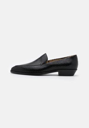 JANELL - Loaferit/pistokkaat - black