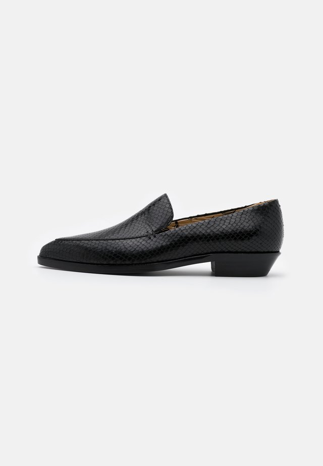 JANELL - Nazouvací boty - black