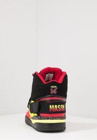 Ewing - CONCEPT - Zapatillas altas - black/red/yellow - 3
