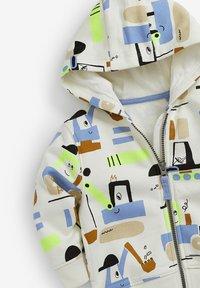 Next - Zip-up hoodie - white - 2