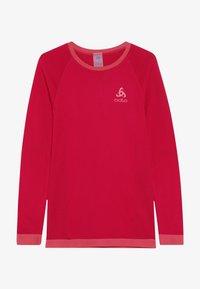 ODLO - CREW NECK PERFORMANCE WARM KIDS  - Camiseta interior - cerise/fruit dove - 3