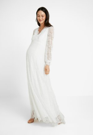 BRIDAL MATERNITY DRESS LONG - Occasion wear - snow white