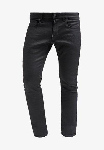 REVEND SKINNY - Jeans Skinny Fit - black pintt stretch denim