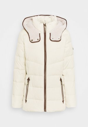 Down jacket - moda cream