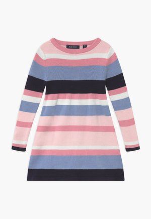KIDS STRIPE - Gebreide jurk - multi-coloured
