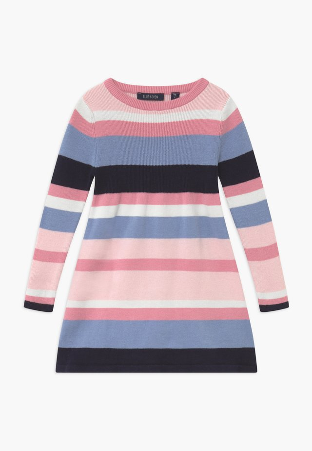 KIDS STRIPE - Stickad klänning - multi-coloured