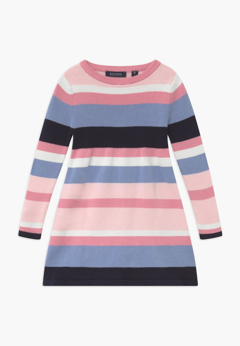 Blue Seven - KIDS STRIPE - Gebreide jurk - multi-coloured