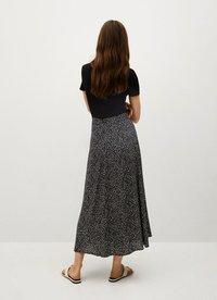 Mango - BOMBAY - A-line skirt - schwarz - 2