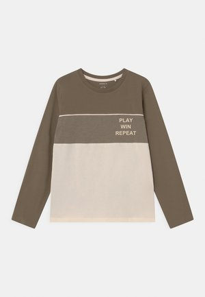 NMMNELLE - Long sleeved top - stone gray