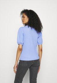 Marks & Spencer London - PUFF SLEEVE  - T-shirts basic - blue - 2