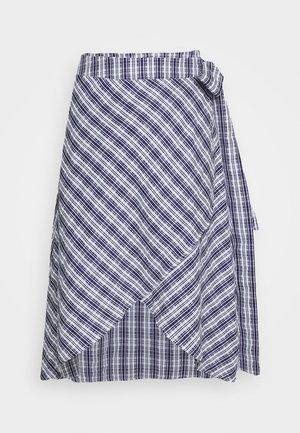 VALEUR - Áčková sukně - navy