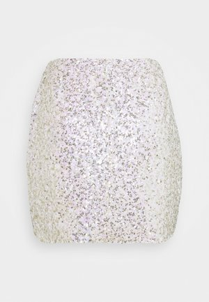 SEQUIN  - Minifalda - gold pink sequin