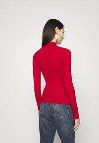 Even&Odd - Pullover - brick red - 2