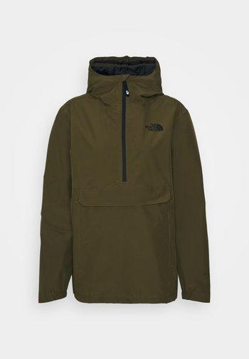 WATERPROOF FANORAK - Outdoor jacket - military olive