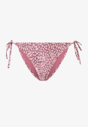 MIT BUND IN BANDFORM. - Bikiniunderdel - pink