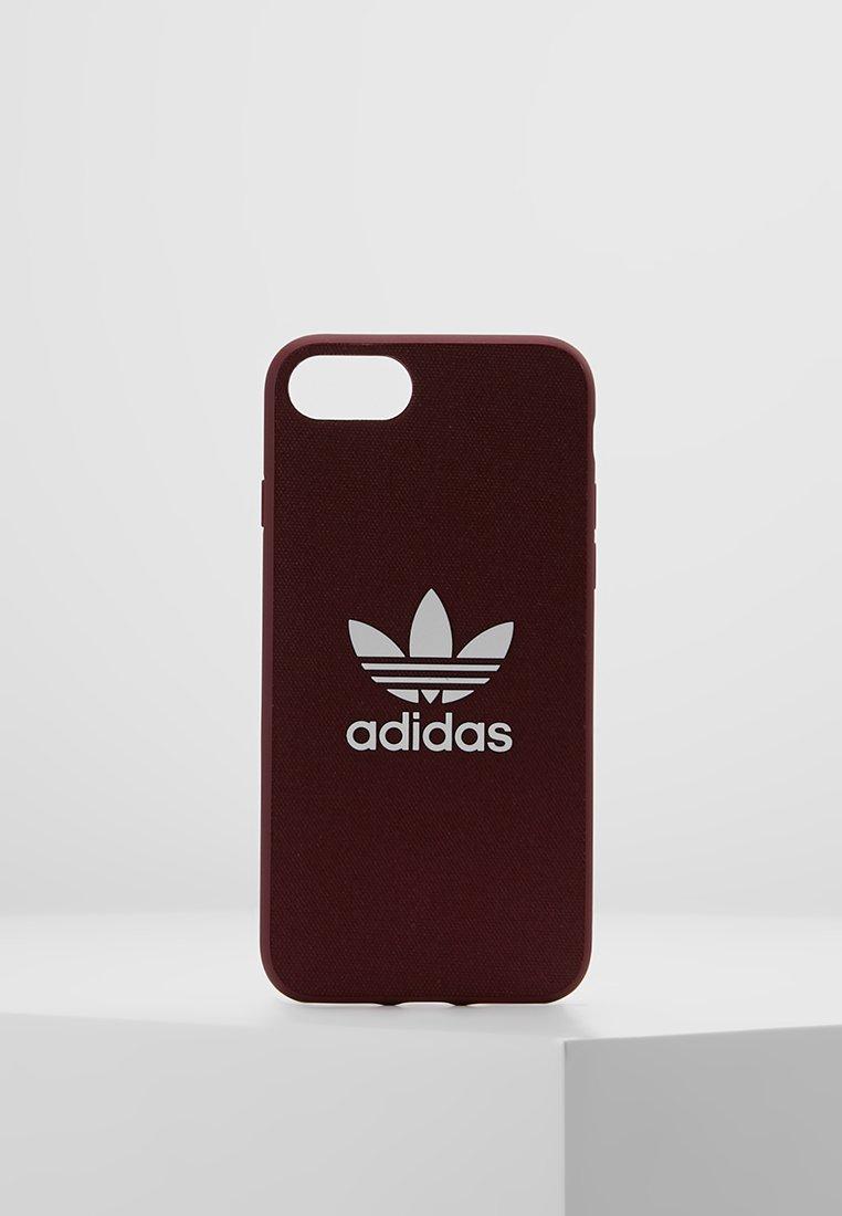 adidas Originals - MOULDED CASE CANVAS  IPHONE 6/6S/7/8 - Étui à portable - maroon/white