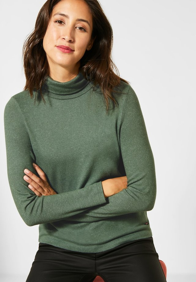 Long sleeved top - grün
