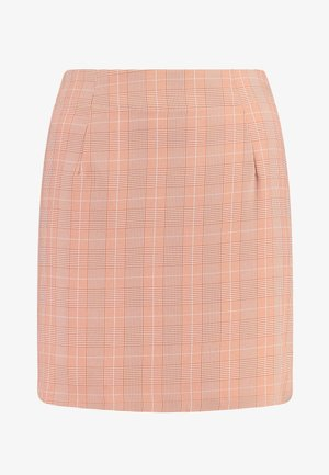BABY CHECK SKIRT - Minisukně - light pink