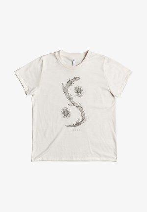 Benjamin  - Print T-shirt - vintage white