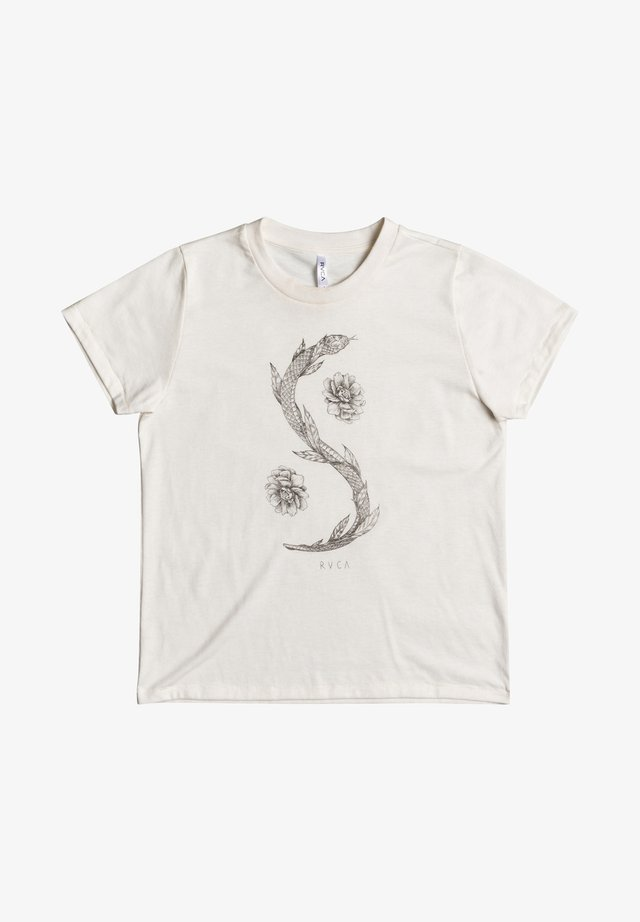 Benjamin  - T-shirt med print - vintage white