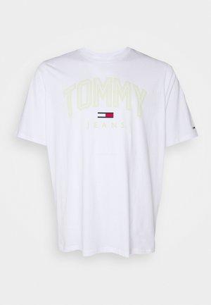 SHADOW TEE - Print T-shirt - white