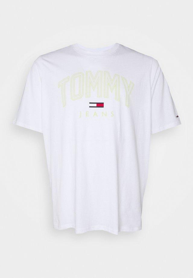 SHADOW TEE - T-shirt imprimé - white
