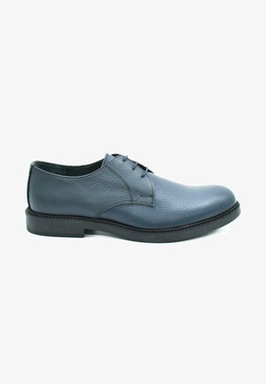 HAND MADE GENUINE - Lace-ups - casual blue