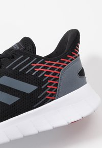 adidas Performance - ASWEERUN - Neutral running shoes - core black/onix/scarlet - 5