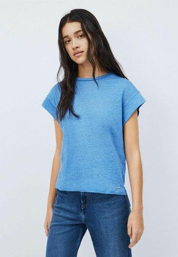 CLEO - Basic T-shirt - bright blue