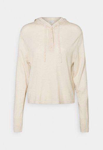 CHIARA HOODIE - Jumper - soft beige