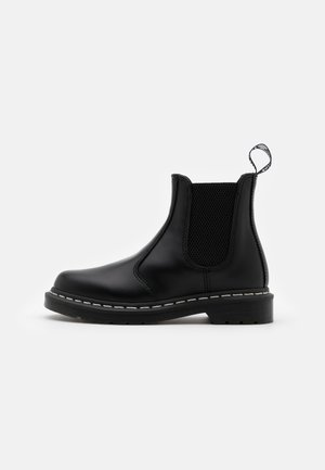 Bottines à lacets - black smooth