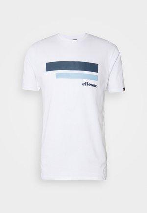 RIAN - Print T-shirt - white