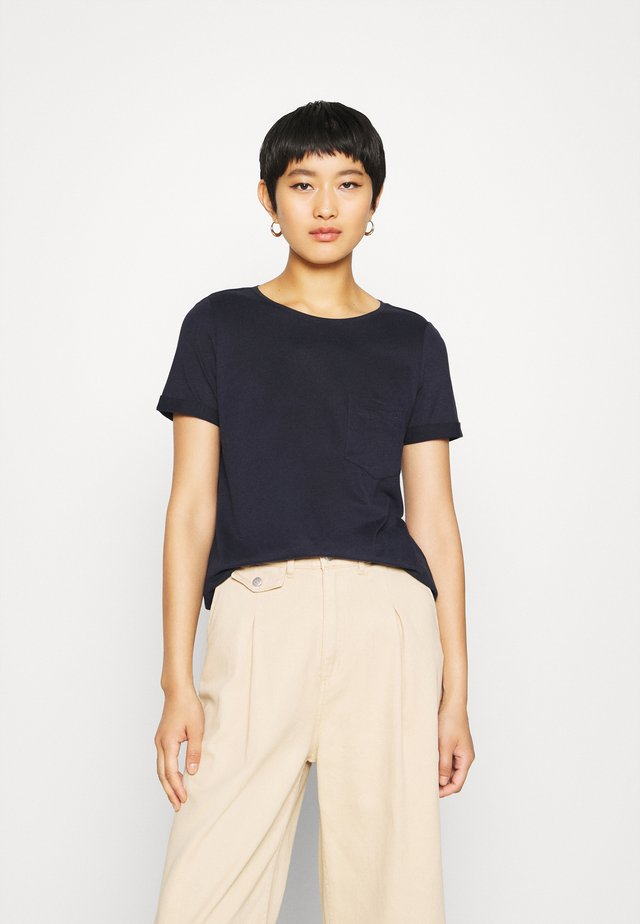 KURZARM - T-shirts basic - dark blue