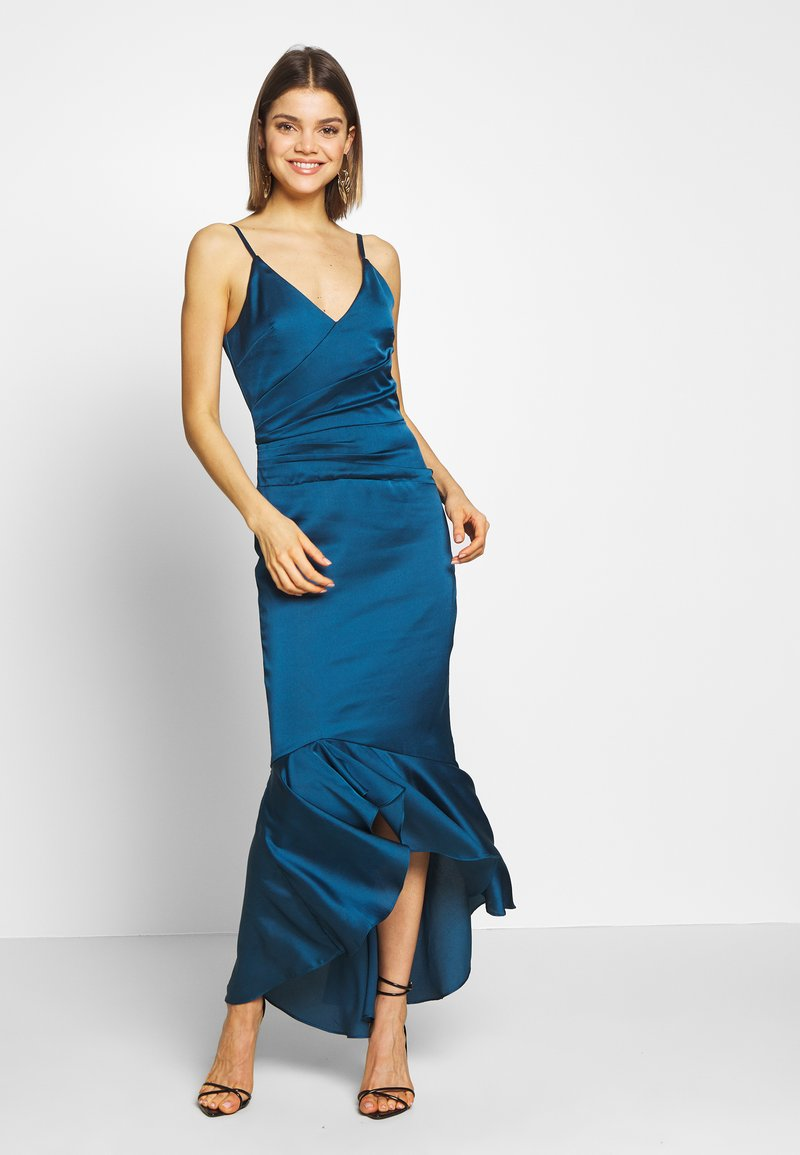 Chi Chi London - SHELBIE DRESS - Occasion wear - teal