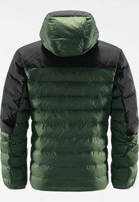 Haglöfs - DALA MIMIC HOOD MEN - Vinterjacka - fjell green/true black - 6