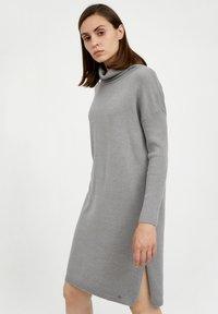 Finn Flare - Jumper dress - grey melange - 3